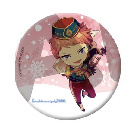 Ensemble Stars Eccentric Snow Party! 2020 - Event Exclusive Character Can Badge