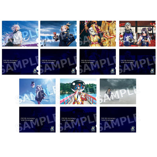 "Fate/Grand Order FGO 5th Anniv. ""under the same sky"" - Hokkaido/Tohoku Region - Event Exclusive Character A4 Clear File Dec 2020"