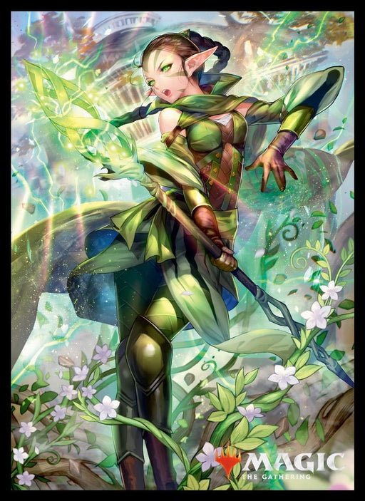 Magic The Gathering - Nissa Who Shakes the World - Character Sleeves MTGS-086 80CT