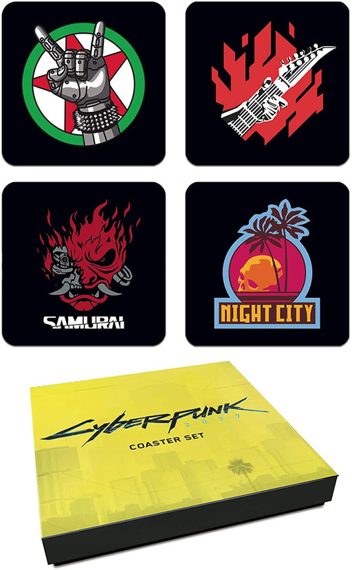 Cyberpunk 2077 - Dark Horse Comics Coaster Set