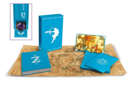 The Legend of Zelda: Breath of the Wild-Creating a Champion (Hero's Edition) HC - Dark Horse Art Book