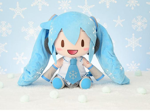 "Vocaloid Hatsune Snow Miku 2010 Character 11"" Special Prize Plush Toy Doll"