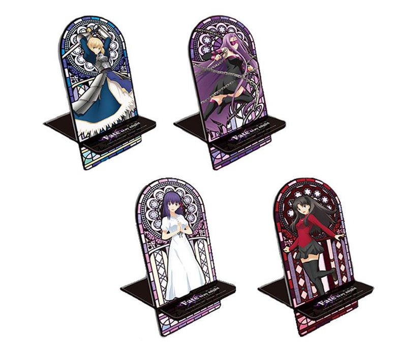 Fate/stay night Heaven's Feel Rin Tohsaka Stained Glass Window Acrylic Mobile Phone Stand