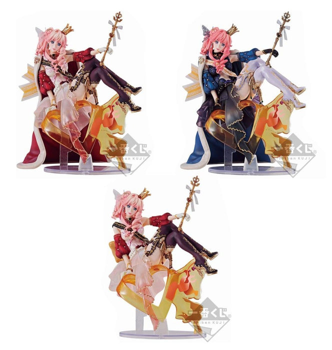 Macross F Frontier 10th Anniv. Sheryl Nome Queen Kuji Prize Figure *SET of 3*