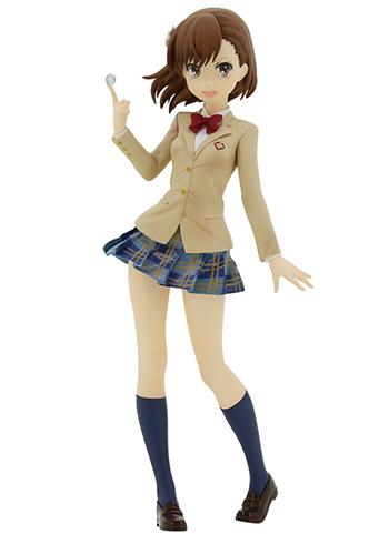 A Certain Magical Index - Misaka Mikoto Railgun - Character Figure