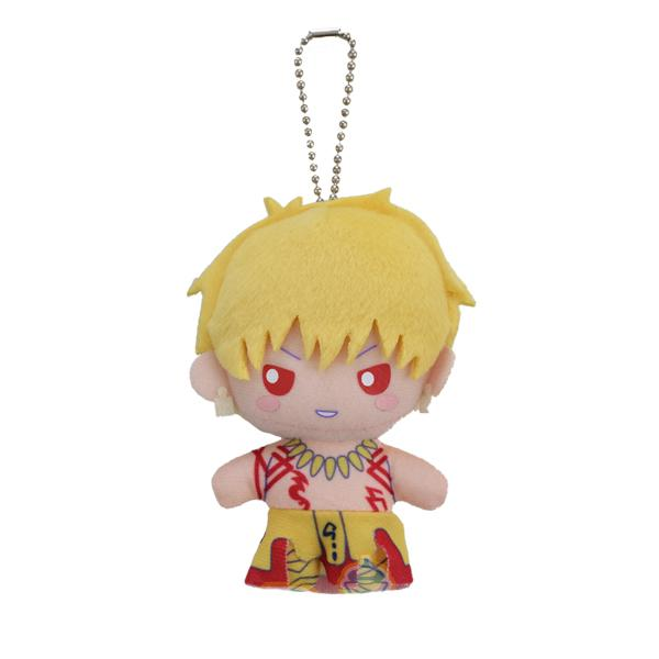 Fate Grand Order Sanrio Arthur Cu Gilgamesh - Plush Key Chain Mascot Ball-Chain Vol.7 FGO