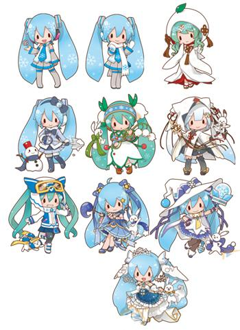 Vocaloid Hatsune Snow Miku Project Racing Character Acrylic Key Chain Mascot