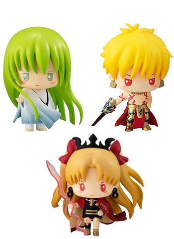 Fate Grand Order Sanrio Gilgamesh, Enkidu & Ereshkigal - Character Mini Figure Vol.2 FGO