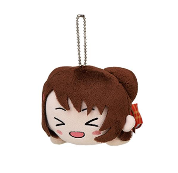 BanG Dream! Bandori Vocalist Nesoberi Ball-Chain Plush Key Chain Mascot V.1