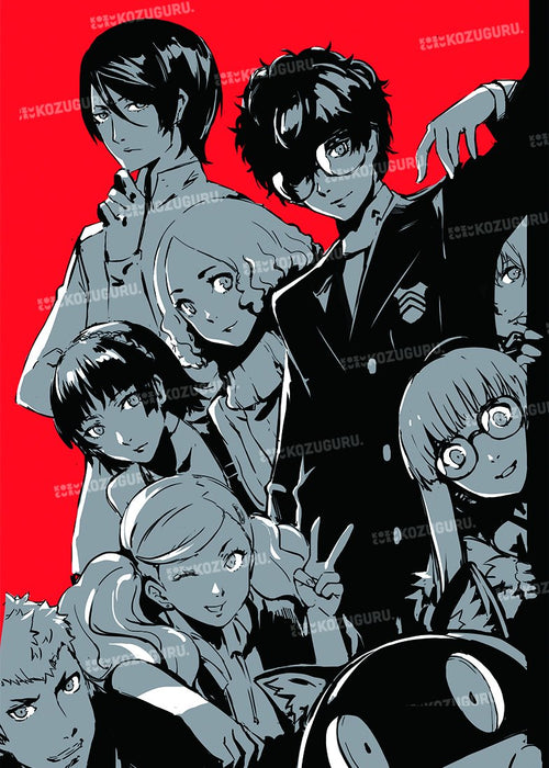 P5 Persona 5 - Character Doujin Illustration Book