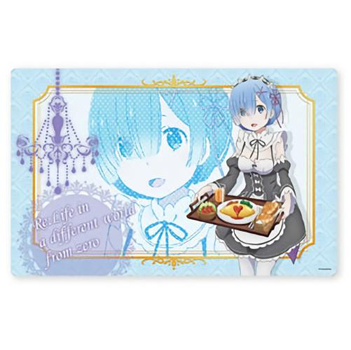 Re:Zero Rem Maid Outfit Ver. Character Prize Rubber Play Mat
