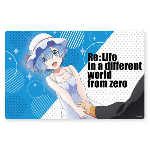 Re:Zero Rem Private Casual Ver. Character Prize Rubber Play Mat