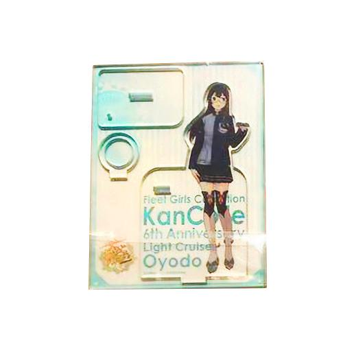 Kantai Collection Kancolle Lawson Character Acrylic Loop Stand w/ Ball Point Pen