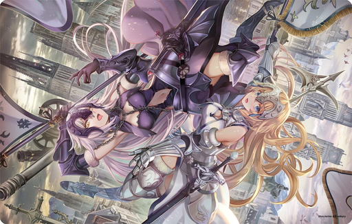 COMIC☆1 15 Fate Grand Order Jeanne d'Arc Alter Avenger - Character Rubber Play Mat FGO