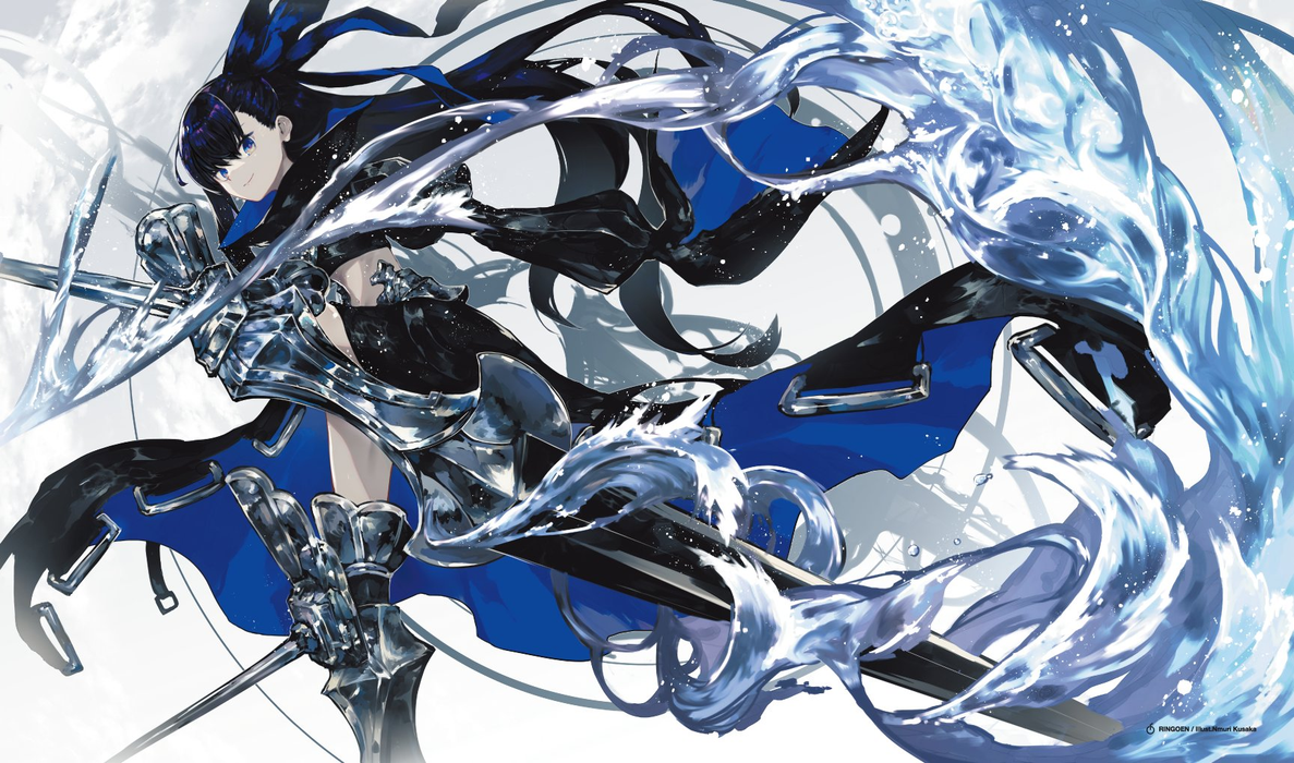 COMIC☆1 15 Fate Grand Order CCC Alter Ego Meltryllis Meltout Ver. - Character Rubber Play Mat FGO