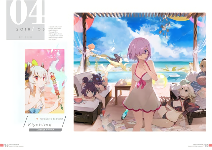 Fate Grand Order Doujin Illustration Book nobunonobook