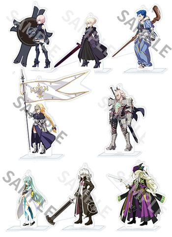 Fate Grand Order Delight Works Character Acrylic Stand Key Chain AnimeJapan 2019 FGO