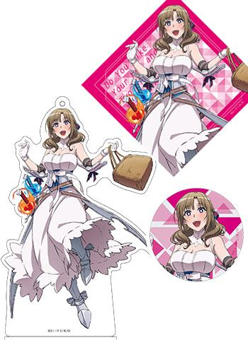 Do You Like Your Mom? Mamako Oosuki AnimeJapan Aniplex Acrylic Stand Key Chain & Can Badge & Sticker *SET*