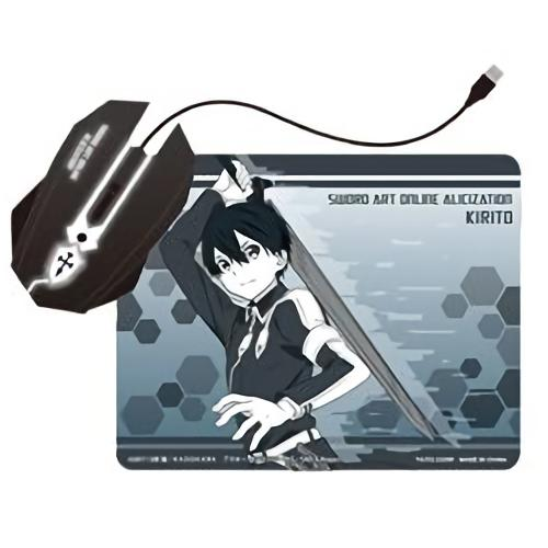 Sword Art Online SAO Analyzation - Character Light up Mouse and Mouse Pad SET