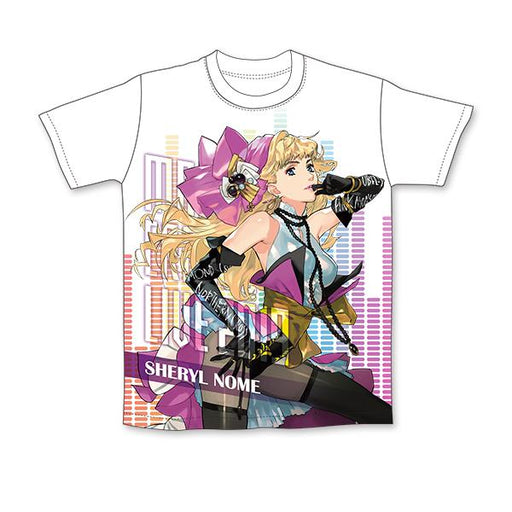 Macross Crossover Live 2019 Sheryl Nome Character Full Graphics Color T-Shirt