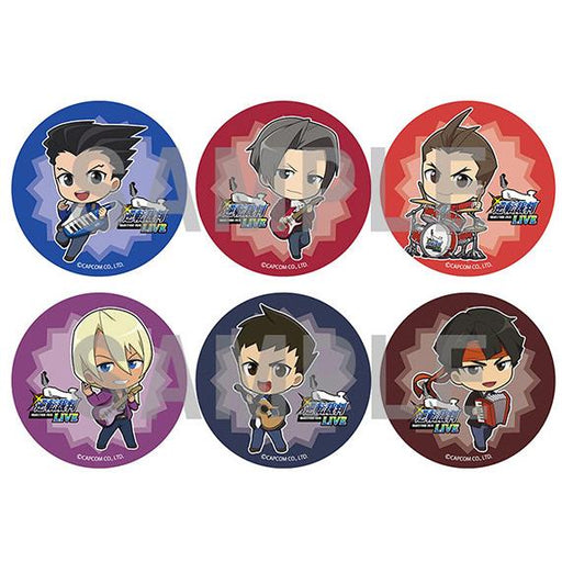 Ace Attorney Objection 2019 Live Event Limited Character Can Badge