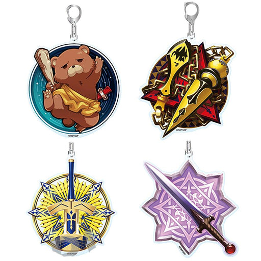 Fate Grand Order Fes 2019 Exclusive Command Code Motif Character Acrylic Key Chain Mascot