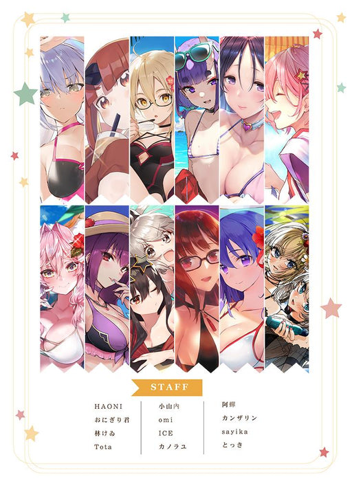 Fate Grand Order FGO Summer Wars C96 Character Doujin Full Color Illustration Books
