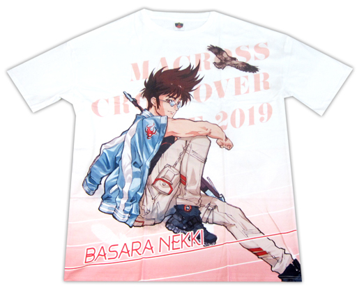 Macross Basara Nekki Crossover Live 2019 Free Character T-Shirt Size L
