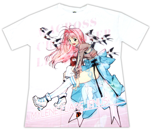 Macross Crossover Live 2019 Free Mylene Flare Jenius Character T-Shirts Size L