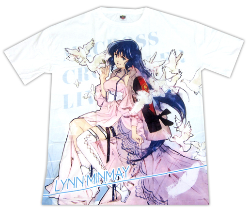 Macross Crossover Live 2019 Free Lynn Minmay Character T-Shirt Size L
