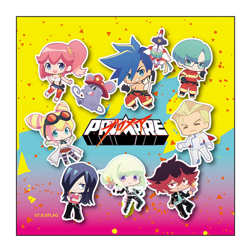 Promare Cafe PuniChara Character Microfiber Cloth