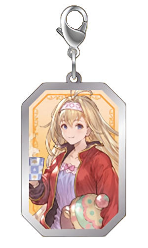 Granblue Fantasy - Character Metal Charms Key Chain Mascot