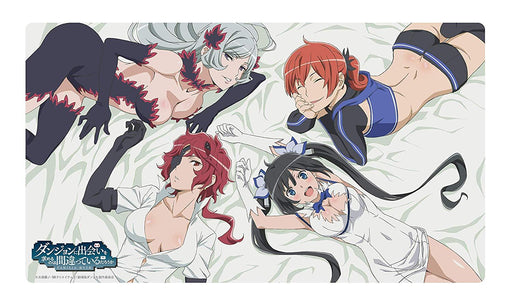 DanMachi Is It Wrong To Pick Girls at the Dungeon Arrow of the Orion A - Full Cast - Character Rubber Play Mat Vol.26