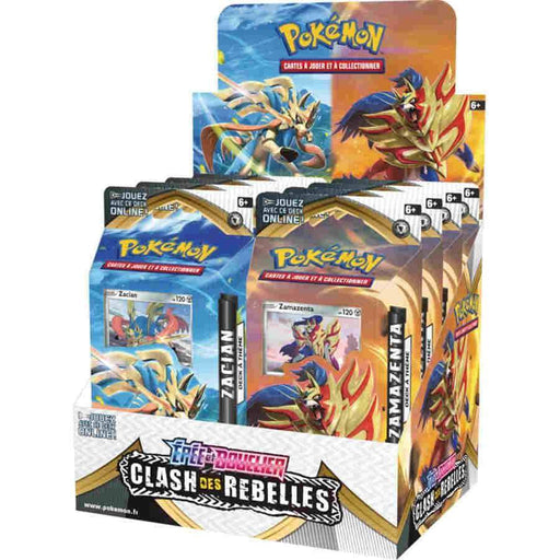 Pokemon TCG: Sword & Shield Rebel Clash Theme Trial Deck