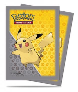 Pokemon Pikachu Grey Character Sleeves 65CT