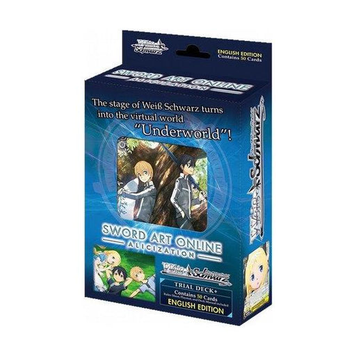 Weiss Schwarz: Sword Art Online Alicization - English Trial Deck Plus