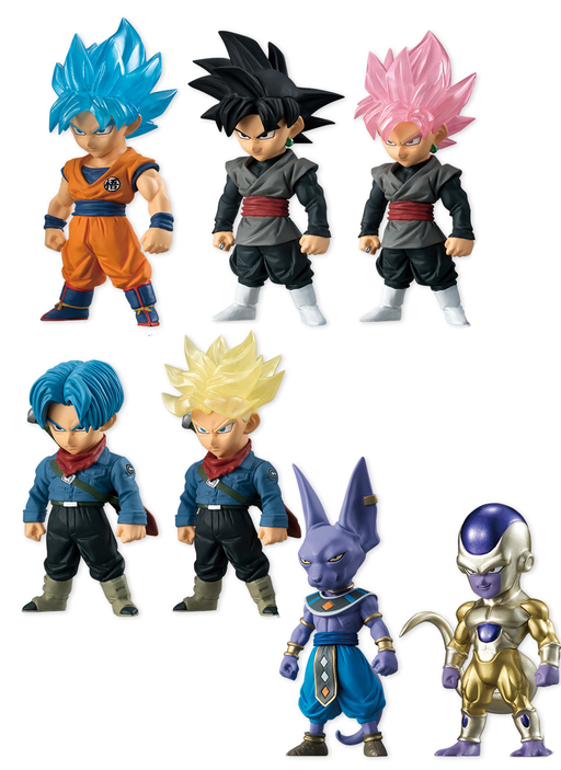 Dragon Ball Adverge Candy Toy Figures Vol.4 **Set of 7**