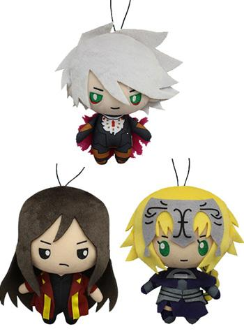 Fate Grand Order Sanrio - Jeanne Karna Liang - Prize Plush Toy Doll *Set of 3* Ver.2 FGO