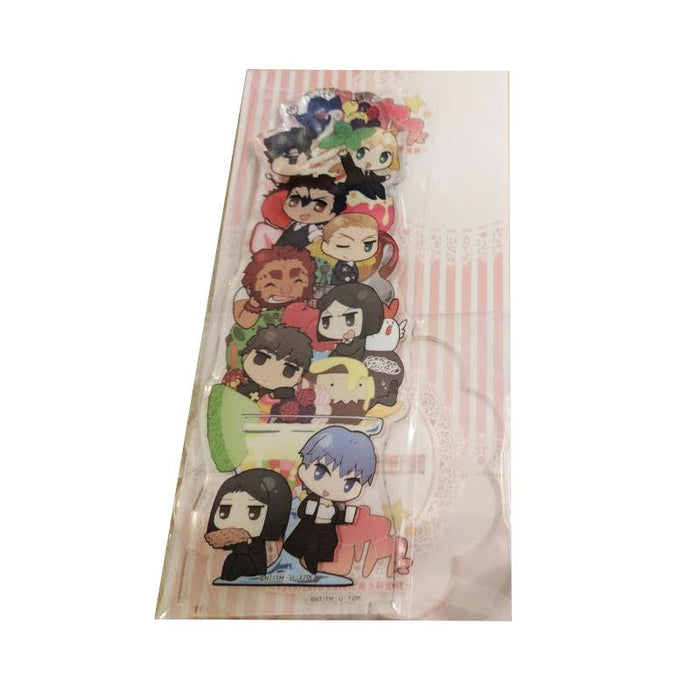Fate/Zero Collab Cafe Exclusive Chibi Character Acrylic Stand Full Cast Ver.1