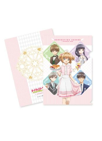 Cardcaptor Sakura Full Cast Collab Cafe Character Clear File A4