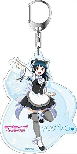 Love Live! Sunshine!! Yoshiko Ikebukuro Welcome to Uranohoshi High Ver. - Acrylic Deca Key Chain
