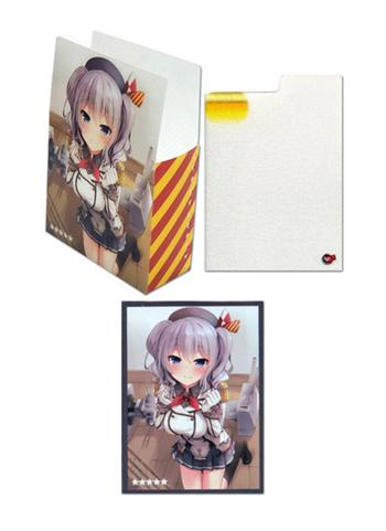 Kantai Collection Kashima - Limited Exclusive Doujin Character Set Sleeves + Deck/Card Tray