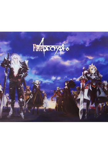 Fate Apocrypha Full Cast Collab Cafe A3 Giant Clear File
