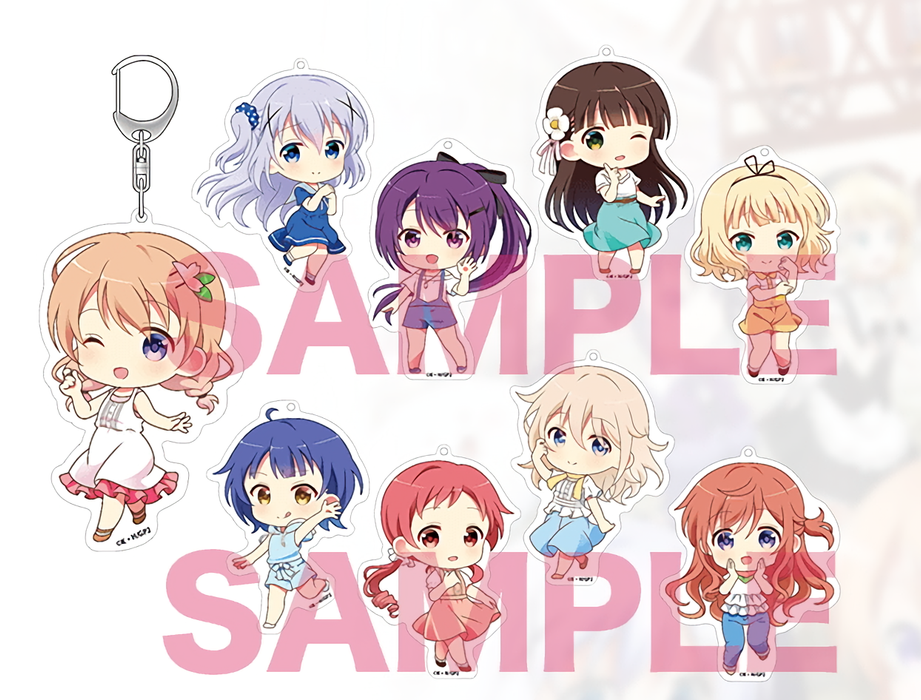 Gochiusa Is the Order a Rabbit? Syaro - Big Acrylic Deca Key Chain Mascot