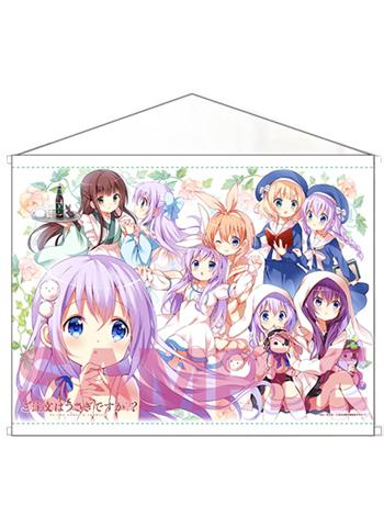 Is the Order a Rabbit? Gochiusa Full Cast Memory of Chino - Event Exclusive Wall Scroll Tapestry