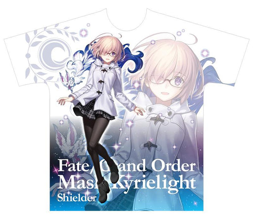 Fate/Grand Order × Lawson Shielder Mash Kyrielight - Exclusive White T-shirt Size L FGO