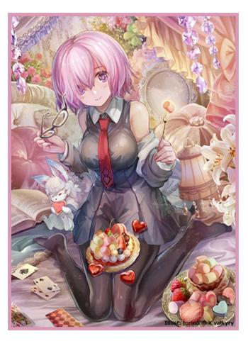 Fate Grand Order Shielder Mash Marshmallow - Limited Exclusive Doujin Character Sleeves FGO
