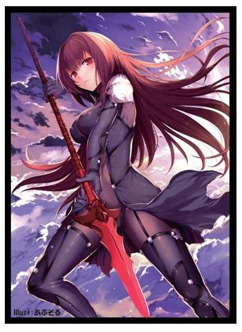 Fate Grand Order Lancer Shishou Scathach - Limited Exclusive Doujin Character Sleeves FGO