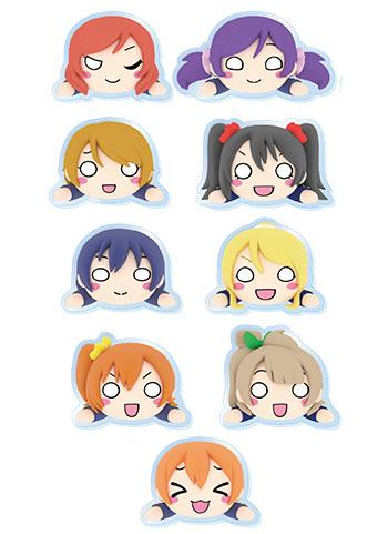 Love Live! Muse Collab Cafe Character Acrylic Badge Clip Part.2 Individuals