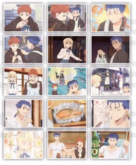 Today's Menu for the Emiya Family x UFOtable Cafe Character Exclusive Bromide